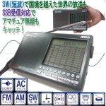 画像2: プロ仕様SSB受信シンセサイザーラジオ (送料無料 FM AM SW 短波 LW 長波 世界の放送 アマチュア無線 周波数帯デジタルチューニング) (2)