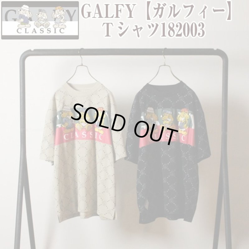 画像1: GALFY「ガルフィー」Tシャツ182003 (1)