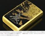 画像5: 牙狼<GARO>-MAKAISENKI-黄金騎士ver.ZIPPOライター[BR(真鍮タイプ)] (5)
