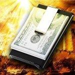 画像2: GREEDカード収納付きマネークリップ (2)
