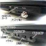 画像3: 10.1インチフルセグTVチューナー内蔵ポータブルDVDプレーヤー[HTA-PD10FS]  (3)