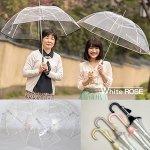 画像3: ホワイトローズビニール長傘「縁結」(えんゆう) (3)