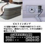 画像3: INTEX電動ポンプ内蔵エアーベッド「プレムエアーワン・ダブル」 (3)