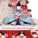 画像3: ひな人形「おひなさま/舞桜雛」 (3)