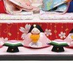 画像4: ひな人形「おひなさま/舞桜雛」 (4)