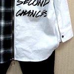 画像7: RINGSチェック切替BIGシャツ (7)