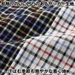 画像3: Pierucci(ピエルッチ)サッカー生地格子柄半袖シャツ2色組 (3)