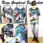画像6: RINGSグラフィカルBIGTシャツ (6)