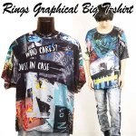 画像1: RINGSグラフィカルBIGTシャツ (1)