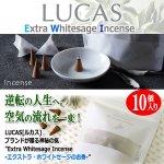 画像1: LUCAS[ルカス] ホワイトセージ浄化&ヒーリングインセンス[10個入り] (1)