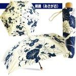 画像5: 晴雨兼用傘「折りたたみUV百花涼藍」 (5)