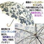 画像3: 晴雨兼用傘「UV百花涼藍」 (3)