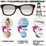 画像3: メガネ1つで3種類の拡大鏡「トリプルアイルーペ」 (3)