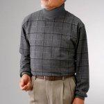 画像2: mij(エムアイジェイ)日本製暖かタートルネックシャツ2色組 (2)