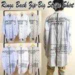 画像1: RINGSバックZIP-BIGストライプシャツ (1)