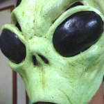 画像3: ハロウィン・フェイスマスクメキシコ製「エイリアン」 (3)