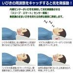 画像3: いびき周波数キャッチ低反発枕「シュベ スマートセンス」 (3)