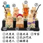 画像4: 猫buddha(ニャンブッダ)「猫福神/ねこふくじん」七福神セット (4)