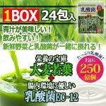 画像1: たっぷり乳酸菌EC-12!大麦若葉青汁1BOX(24包入り) (1)