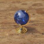 画像3: インテリアガラス地球儀ブルー (3)