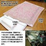 画像4: 送料無料今治産大判ジャガード織タオルケット2色セット (夏ギフト,2枚でお得,綿100%,夏の肌掛け,洗濯機で洗える,肌触り快適) (4)
