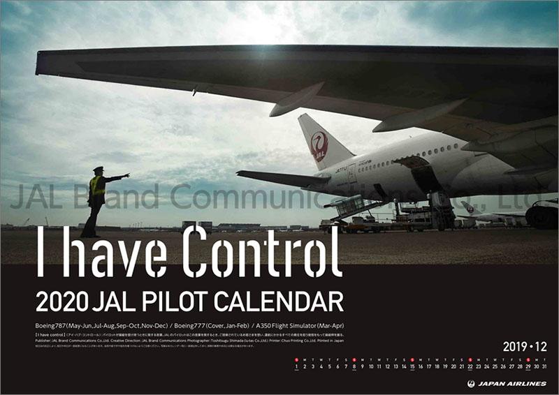 画像1: 2020年JAL「PILOT -I have Control-」カレンダー (1)