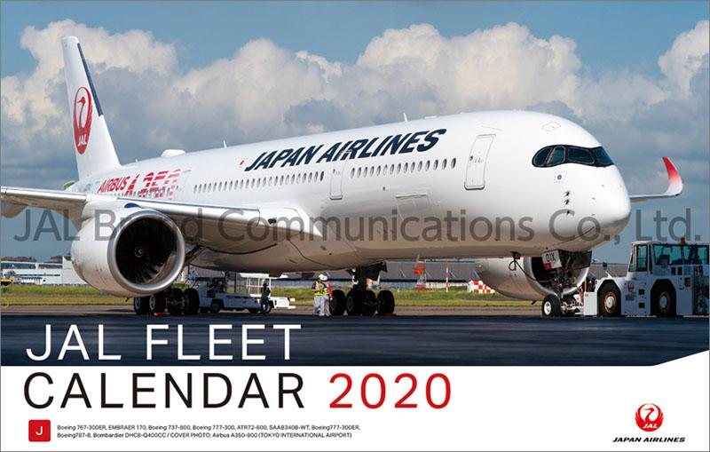 画像1: 2020年JAL「FLEET」(普通判)カレンダー (1)