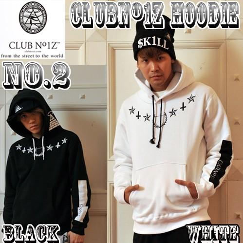 画像1: 【CLUBNO1Z】クラブノイズ・フーディNo.2 (1)
