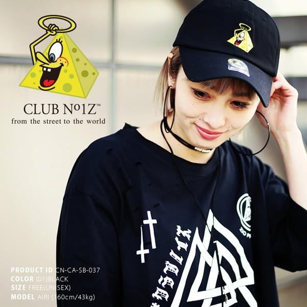 画像1: クラブノイズボールキャップ「ピラミッドボーイ」(CLUBNO1Z,ベースボールキャップ,男女兼用,帽子,B系,ヒップホップ系) (1)